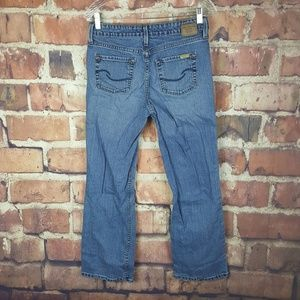 Levis Signature Jeans Mid Rise Boot Cut Womens 8S